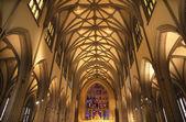 Trinity Church New York City Inside Stained Glass — Stock Photo