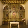 Stock Photo: Chapel Altar Table Mission Dolores SFrancisco California