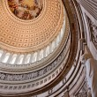 US Capitol Dome Rotunda Lincoln Statue Apothesis George Washingt - Stok fotoraf