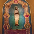 Mary Statue Shrine of Immaculate Conception Insides Washington D — Zdjęcie stockowe #6146790