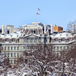 Old Excecutive Office Building After the Snow Constitution Avenu — Stock Photo