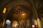 Basilica Altar Cross Jesus Dome Mission Dolores San Francisco Ca — Stock Photo