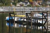 глубокие бухты гавань ванкувер британская колумбия, канада — Стоковое фото