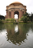 Dome Reflections Palace of Fine Arts Museum San Francisco Califo — Stock Photo