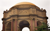 Dome Details Palace of Fine Arts Museum San Francisco California — Stock Photo