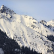 Stock Photo: Kendall Peak Snow Mountain Snoqualme Pass Washington