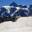 Snowfields Artist Point Mount Shuksan Washington State — Stock Photo
