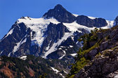 Mount Shuksan Close Up Artist Point Washington State — Stockfoto