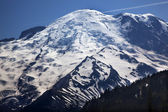 Mount Rainier Close Up From Sunrise Snow Mountain — Stock Photo