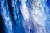 Snoqualme koń wpada wodospad streszczenie washington state i Pacyfiku — Zdjęcie stockowe