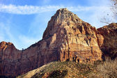 Tower of Virgin Zion Canyon National Park Utah — Stock Photo