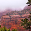 Boynton Red Rock Canyon Rain Clouds SedonArizona — Stok Fotoğraf #6194037