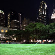 Stock Photo: Bryant Park New York City Skyline Night