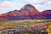Capitol Butte Orange Red Rock Canyon West Sedona Arizona — Stock Photo