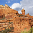 Stock Photo: Clouds Blue Sky Over Boynton Red Rock Canyon SedonArizona