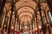 St. Joseph Church Wangfujing Cathedral Interior Basilica Beijing — Stock Photo