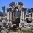 Ancient Gate Ruins Pillars Old Summer Palace Yuanming YuOld B — Foto de stock #6592395