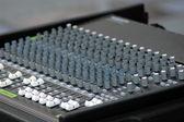 Music console — Stock Photo