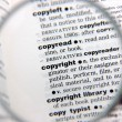Definition of copyright — Stock Photo