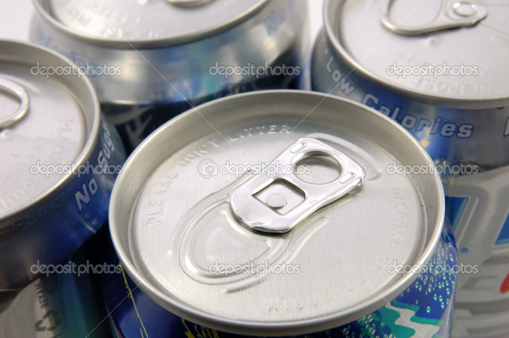 Close up of tin cans — Stock Photo #6724889