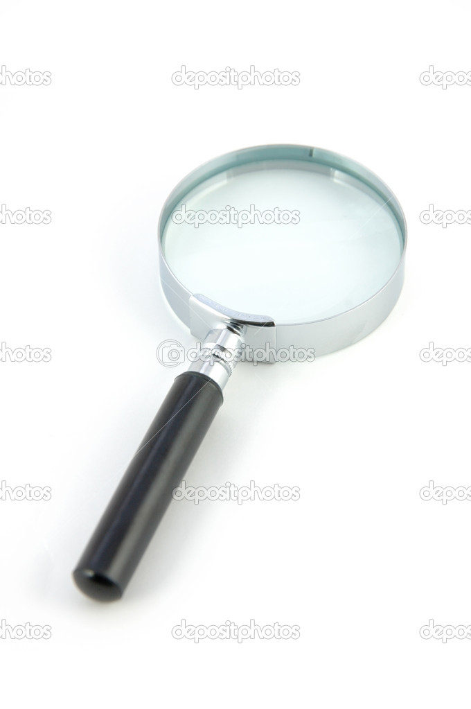 Magnifying Glass in isolated white — Stock Photo #6725396