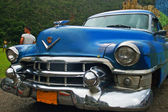 Vintage American car in Cuba — Stock Photo