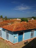 Houses in Trinidad, Cuba — Stock Photo