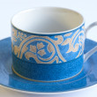 A Cup and Saucer — Stock Photo