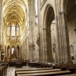 Royalty-Free Stock Photo: Main nave and in St. Vitus Cathedral