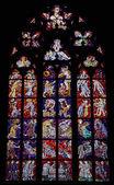 圣维特大教堂 vitrage — 图库照片