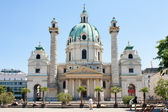 The Karlskirche (St. Charles's Church), Vienna — Stock Photo
