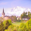 Landscape, Aosta — Stock Photo
