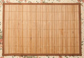 Wooden mat — Stock Photo