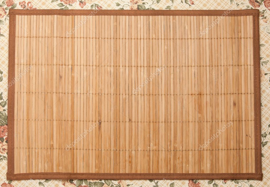 Alfombra de madera foto de stock 6541156 - Alfombras de madera ...