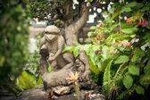 Statuetta di pietra di una scimmia — Foto Stock