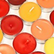 Colore candles — Stock Photo