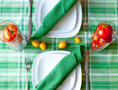 Dinner tableware — Stock Photo