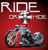 Custom Bike — Stock Vector