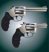 Gun - Revolvers — Stock Vector