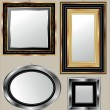 Stock Vector: Mirrors