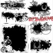 Grunge elements — Stock Vector