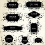 Elegance vintage frames — Stock Vector #6038500