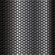 Perforated metal background — Stock Vector #6038891