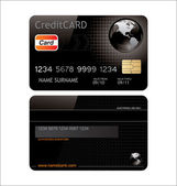 Credit card — Stock Vector