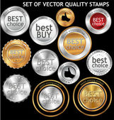 Best Choice - set — Stock Vector