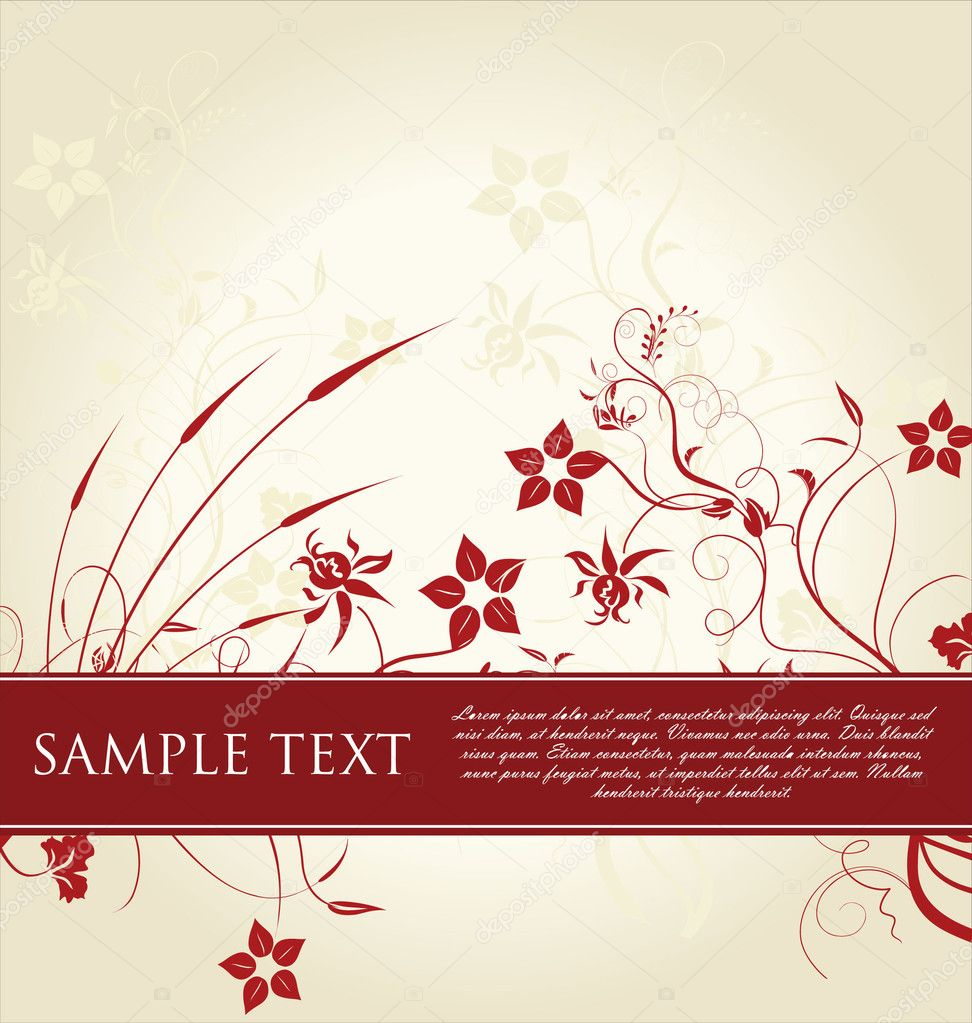 Floral Frame — Stock Vector #6042590