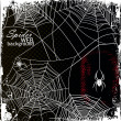 Spider Web Background - Stock Vector