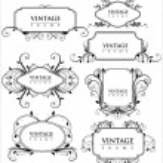 Elegance vintage frames — Stock Vector #6181631