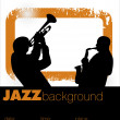 Jazz musician background — Stock Vector #6289150