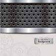 Vettoriale Stock : Abstract perforated background